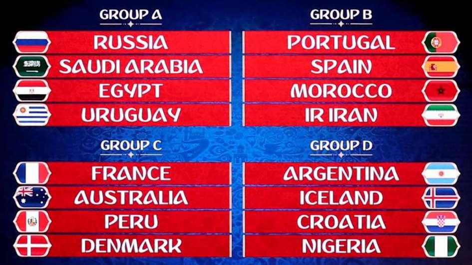 Argentina quedó en el Grupo D y debutará ante Islandia el 16 de junio