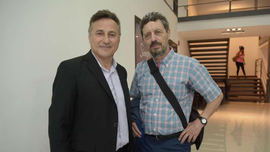 La Universidad Champagnat distinguió con honores al maestro Julio Le Parc