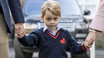 El príncipe George de Inglaterra.