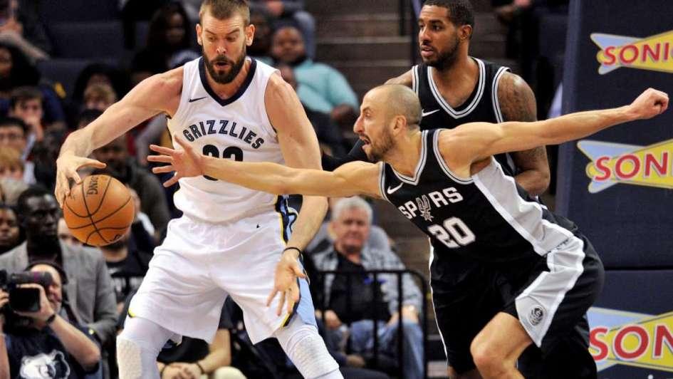 Ginóbili anotó 11 puntos en una nueva victoria de los Spurs