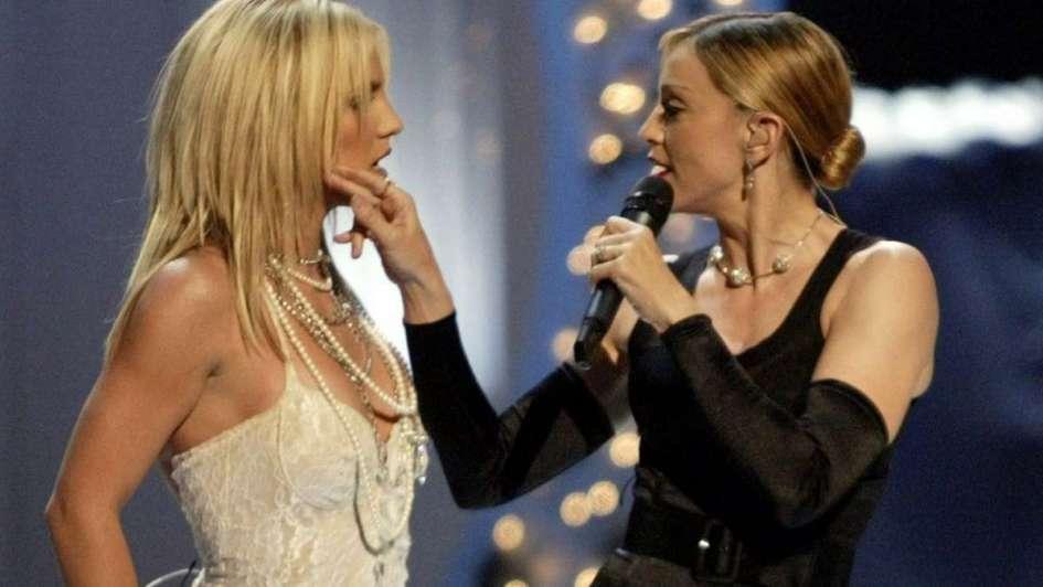 Madonna celebra el cumpleaños de Britney Spears con un cover de