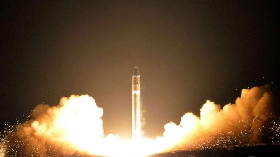 Vuelos comerciales presenciaron lanzamiento de un misil norcoreano