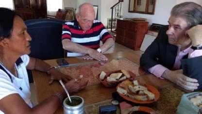 En septiembre, el periodista visitó a Milagro cuando cumplía prisión domiciliaria