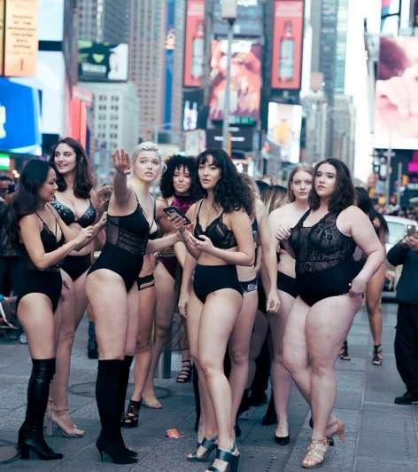 La pasarela que se opone a Victoria's Secret — Guerrilla de lencería
