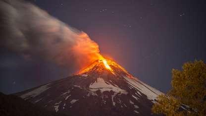 En marzo de 2015, la última erupción del volcán Villarrica afectó al sur argentino.