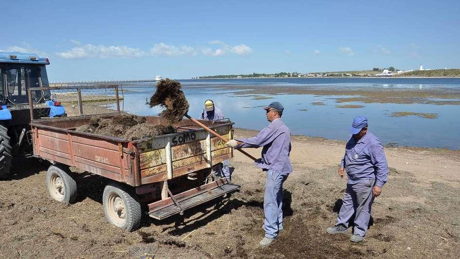 Reclaman por las lamas que afean el embalse El Nihuil