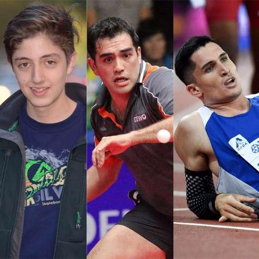 Tres mendocinos nominados a los Premios Olimpia