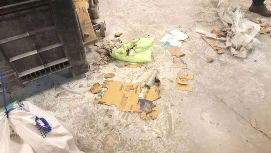 Explotó una bomba casera en el Correo Argentino