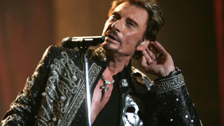 Muere Johnny Hallyday, la más célebre estrella de rock francesa