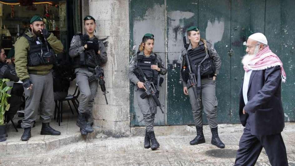 Jerusalén: Israel se prepara para la violencia tras el reconocimiento de Trump