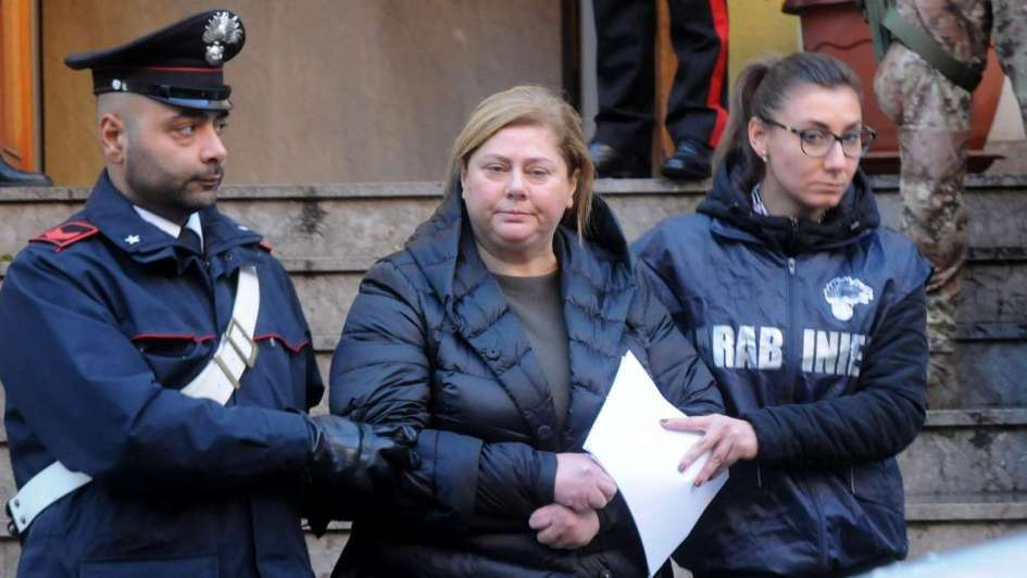 Apresan en Italia a la temible María, nueva
