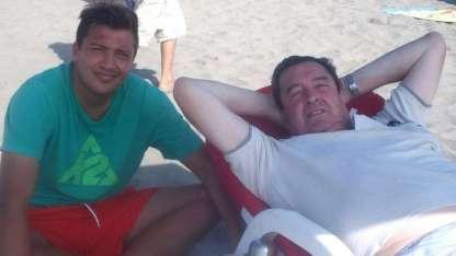 Nicolás y Otilio Romano.