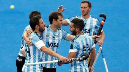 Argentina enfrentó a Inglaterra por última vez en las semifinales de la Liga Mundial de Londres.