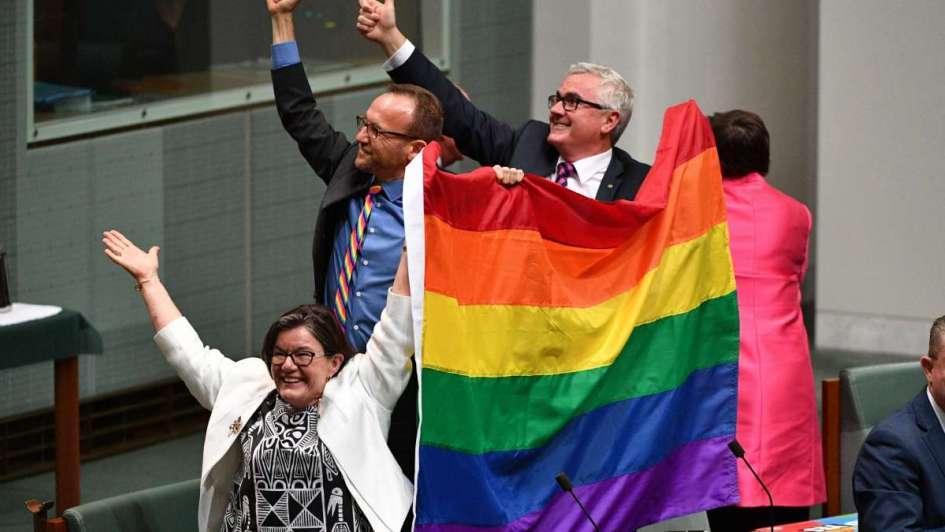 Australia legalizó el matrimonio homosexual