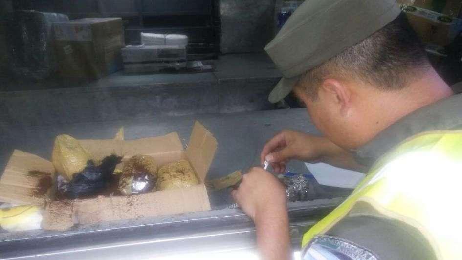 Detuvieron a un hombre con más de un kilo en cocaína en San Carlos