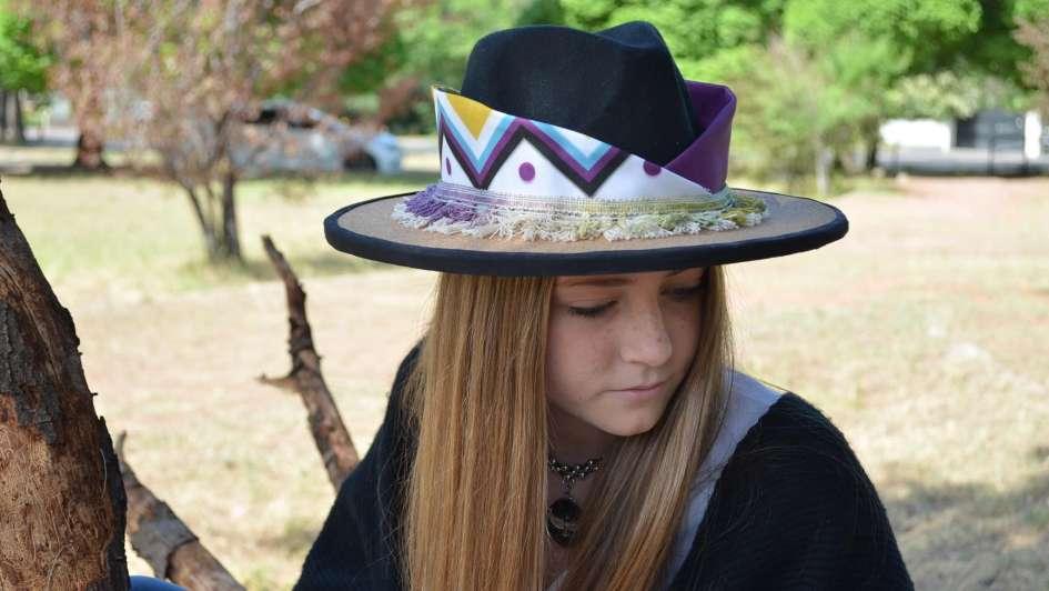 Ganadores del concurso de sombreros para acomodadores Vendimia 2018