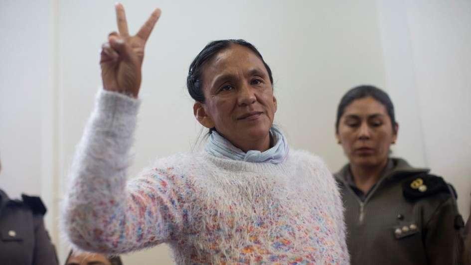 Absolvieron a Milagro Sala en el juicio por amenazas telefónicas a policías