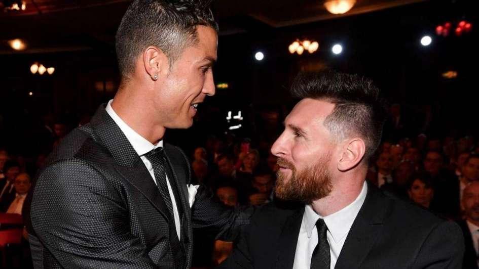 Cristiano Ronaldo y un claro mensaje a Leo Messi