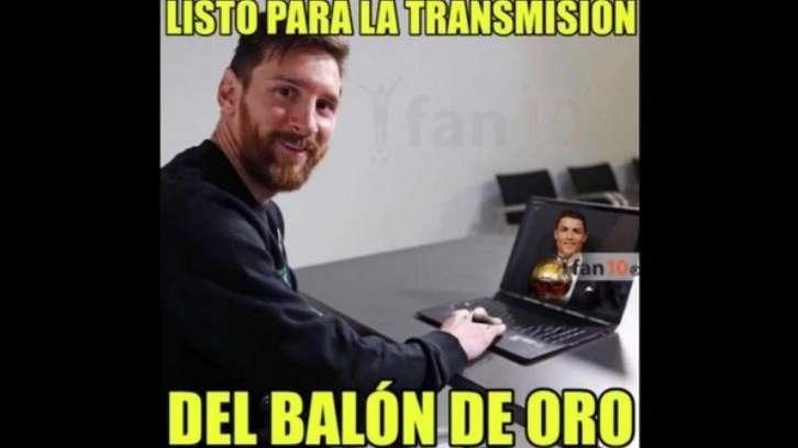 Memes imperdibles tras el quinto Balón de Oro de Cristiano Ronaldo