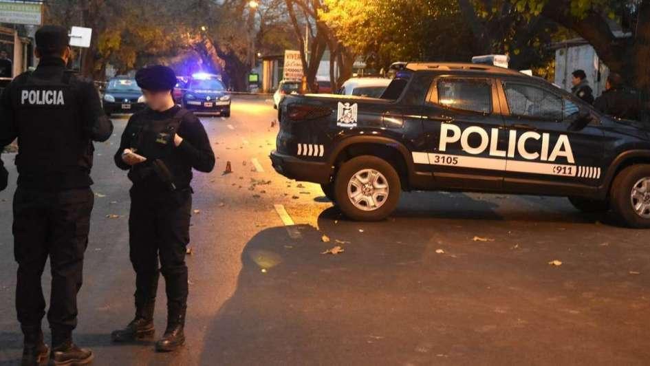 Un asalto generó un intenso operativo policial en Guaymallén