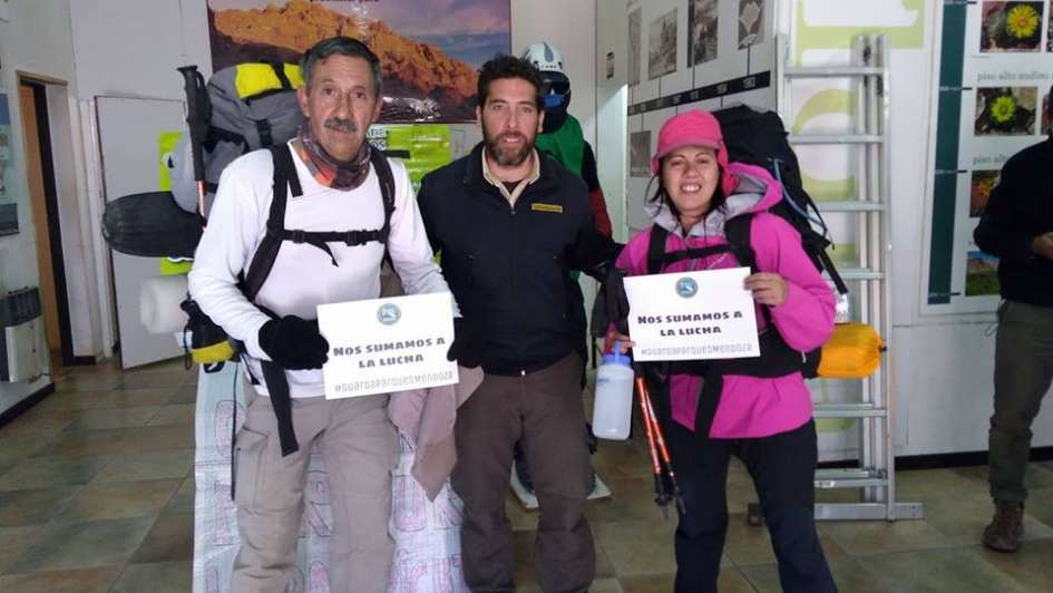 Guardaparques tomaron el centro de visitantes del Aconcagua