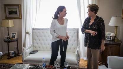 La reunión tuvo lugar en el departamento de Recoleta de Cristina Kirchner.
