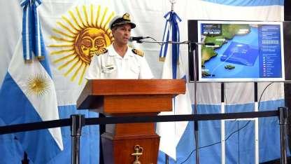 El vocero de la Armada, Enrique Balbi, no dio novedades de importancia. Hoy habla a las 10.