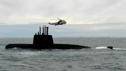 Según un informe de EEUU, el submario se hundió verticalmente y la muerte de los tripulantes fue