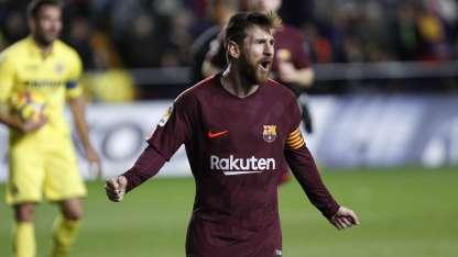 Messi no deja de batir récords en Europa.