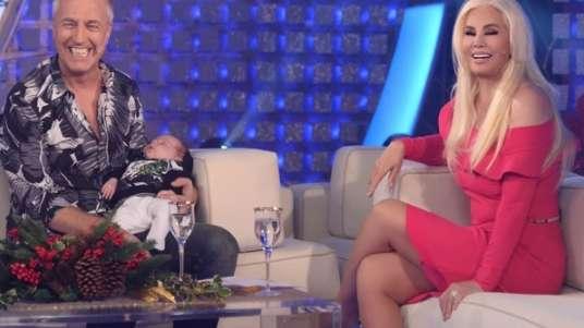 Susana le cambió en vivo los pañales al bebé de Marley