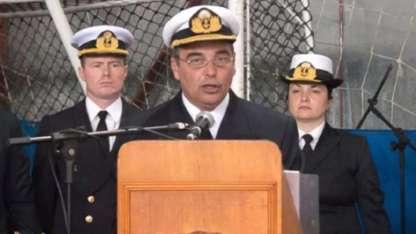 Luis Enrique López Mazzeo, comandante de Adiestramiento y Alistamiento de la Armada