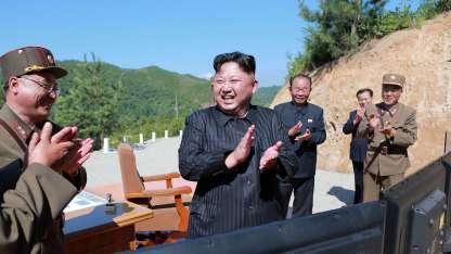 Kim lanzó otra vez su pirotecnia verbal apuntándole directamente a Trump/AFP