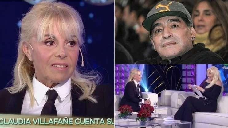 Susana Giménez y Claudia Villafañe, imputadas por una denuncia de Diego Maradona