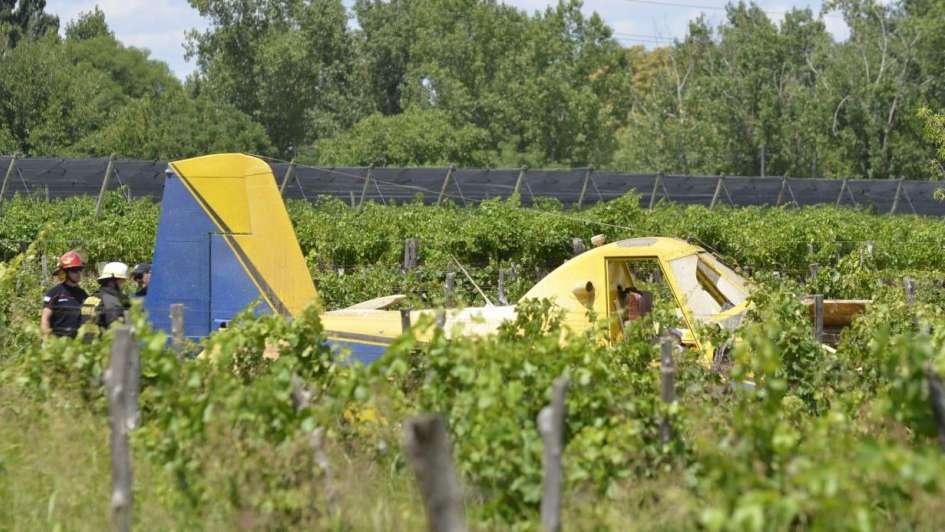 Cayó una avioneta en Rivadavia y murió el piloto