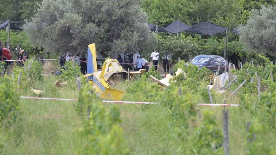 Se estrelló una avioneta en Rivadavia y murió el piloto