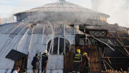 La cúpula del ECA se incendió el 18 de enero pasado.