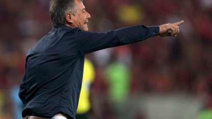 El técnico bonaerense se convirtió en técnico del Rojo en 2016/AFP