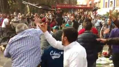 El enfrentamiento sucedió en Coyoacán./Gentileza: El Universal.