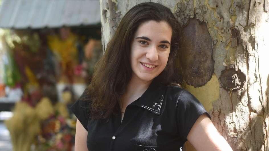 Eliana, la estudiante mendocina que nunca faltó a la escuela