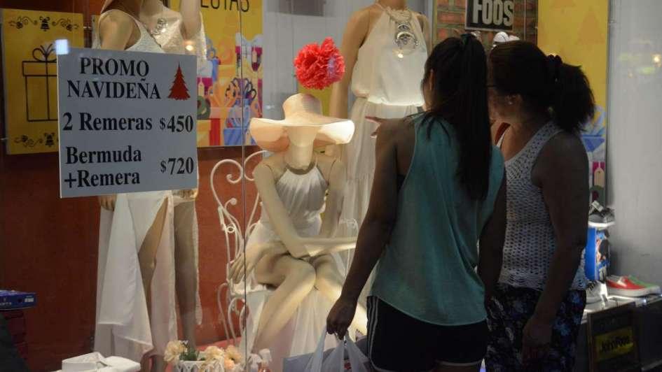 Las ventas por Navidad en el país crecieron menos del 1%