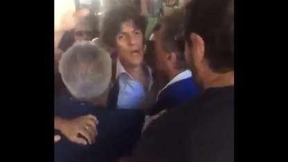 Lousteau recibió amenazas en pleno centro de Bs As por parte de adherentes a la oposición.