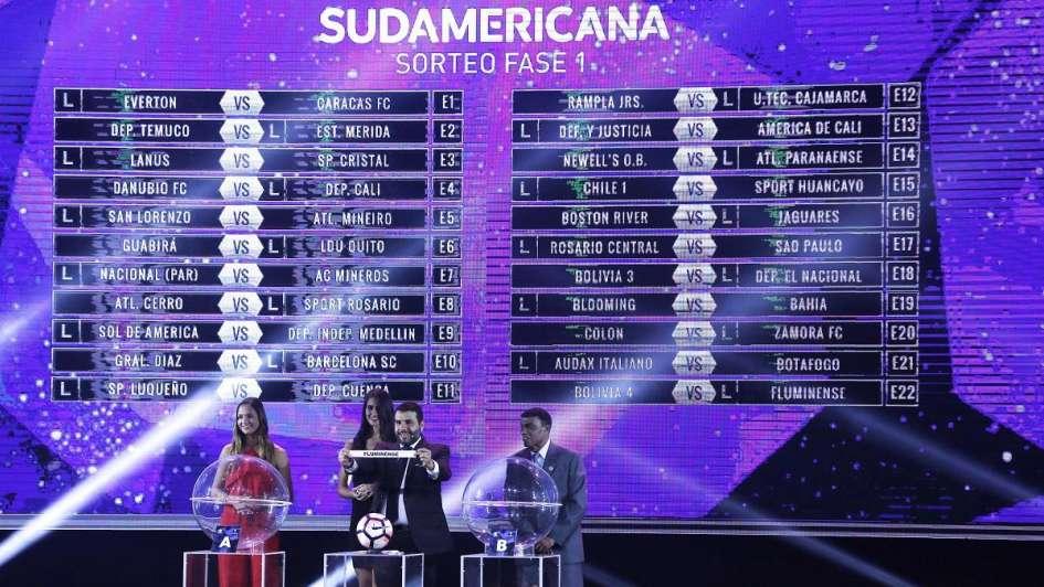 Copa Sudamericana 2018: así quedó la primera fase tras el sorteo