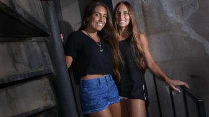 Chiara es la más chica y Julieta, la más grande. Las hermanas son pilares fundamentales en el engranaje de Leonardo Murialdo.
