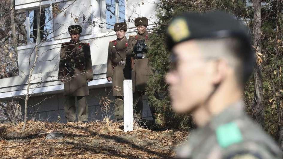 Soldado norcoreano deserta y atraviesa la frontera hacia Corea del Sur