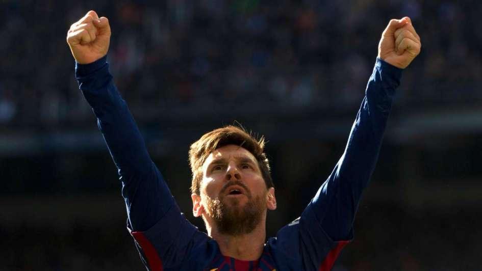 Leo Messi festejó en Facebook la goleada ante Real Madrid