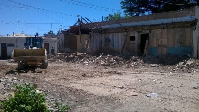 Por el exceso de presos en comisarías, construyen una nueva alcaidía en Tunuyán