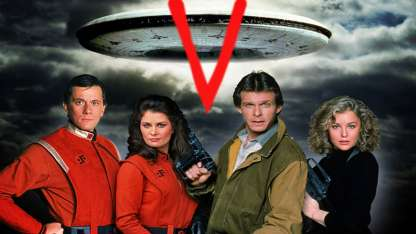 V, invasión extraterrestre.