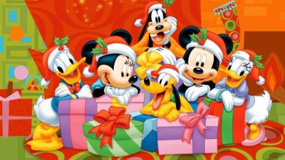 Navidad por Disney