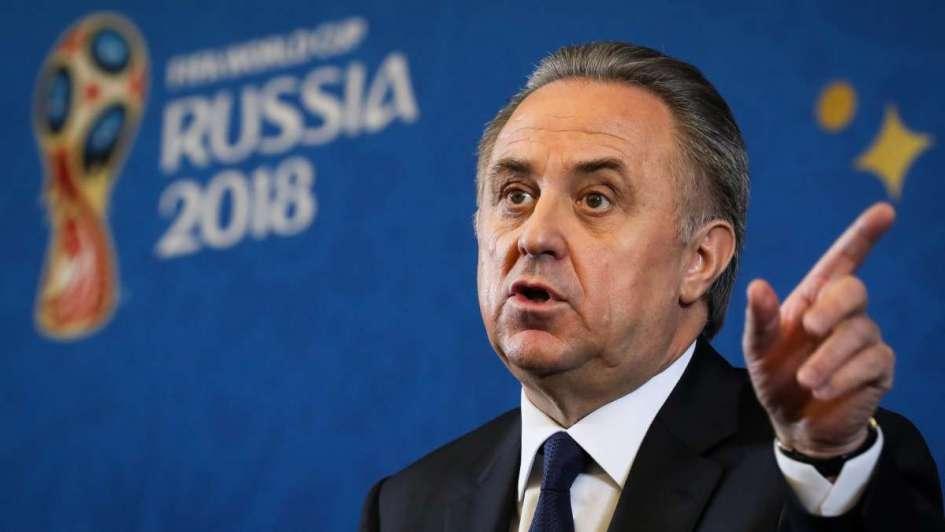 Viceprimer ministro Mutkó suspende trabajo como jefe de Unión de Fútbol rusa