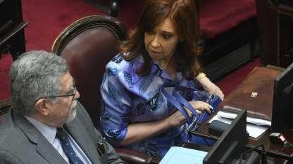 Cristina se cruzó con la vicepresidenta Gabriela Michetti porque no respetó el tiempo reglamentario de su discurso